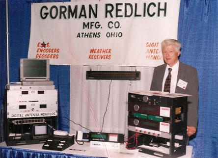 Gorman-Redlich equipment on display at the 1999 NAB Show, Las Vegas